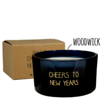 My Flame Lifestyle SOY CANDLE - CHEERS TO NEW YEARS - WINTER GLOW