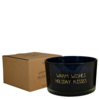 My Flame Lifestyle SOY CANDLE - WARM WISHES AND HOLIDAY KISSES - SCENT: WINTER GLOW