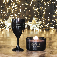 My Flame Lifestyle SOY CANDLE - PROSECC HO HO HO - SCENT: WINTER GLOW