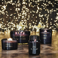 My Flame Lifestyle SOJAKAARS - WARM WISHES AND HOLIDAY KISSES - GEUR: WINTER GLOW
