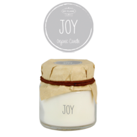 My Flame Lifestyle SOY CANDLE - JOY - SCENT: AMBER'S SECRET