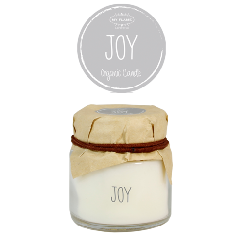 SOY CANDLE - SCENT: AMBER'S SECRET