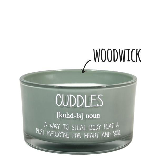 My Flame Lifestyle SOJAKAARS - CUDDLES - GEUR: MINTY BAMBOO
