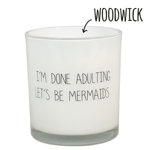 SOY CANDLE - LET'S BE MERMAIDS