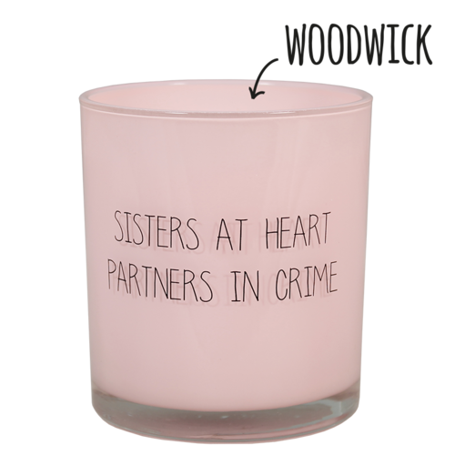 SOY CANDLE - SISTERS AT HEART