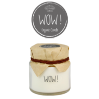My Flame Lifestyle SOY CANDLE - WOW! - SCENT: PERSIAN POMEGRANATE