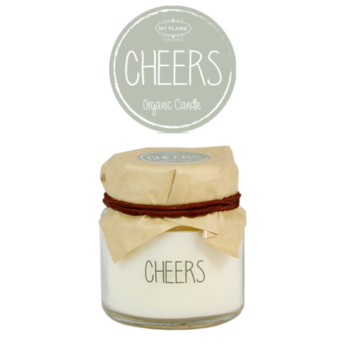 SOY CANDLE - CHEERS