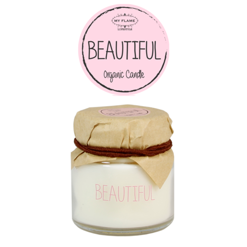 SOY CANDLE - BEAUTIFUL