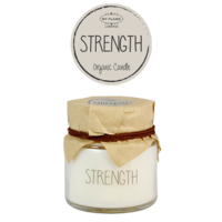 My Flame Lifestyle SOY CANDLE - STRENGTH - SCENT: FIG'S DELIGHT