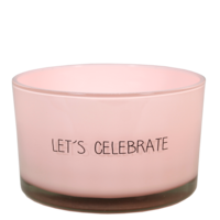 My Flame Lifestyle SOJAKAARS - LET'S CELEBRATE - GEUR: GREEN TEA TIME
