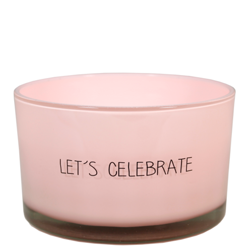 SOY CANDLE - SCENT: GREEN TEA TIME