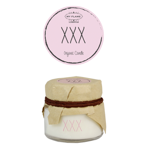 SOY CANDLE - XXX
