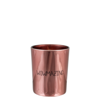 My  Flame Lifestyle SOY CANDLE - WOWMAZING - SCENT: GREEN TEA TIME