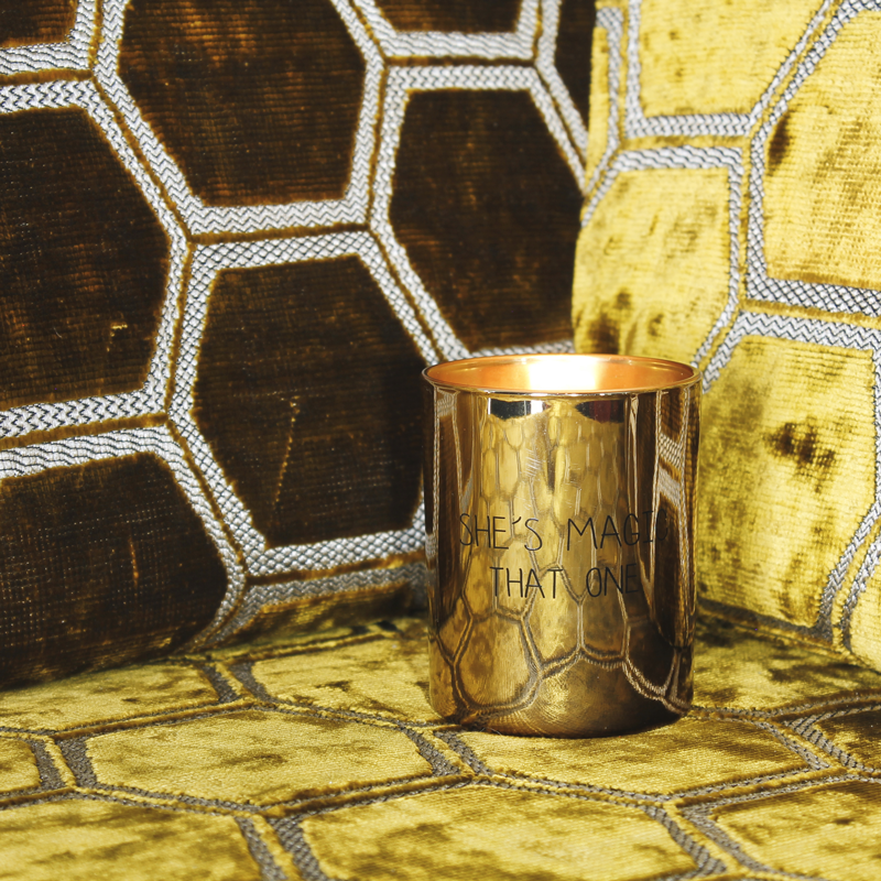 My  Flame Lifestyle SOY CANDLE - SHE'S MAGIC, THAT ONE - SCENT: SILKY TONKA