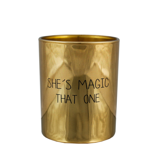 SOY CANDLE - SHE'S MAGIC