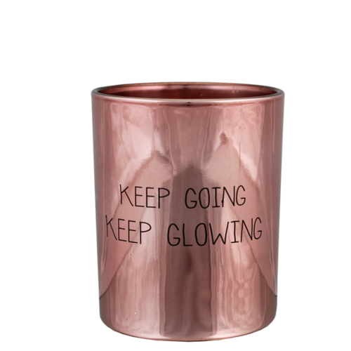 SOY CANDLE - KEEP GLOWING