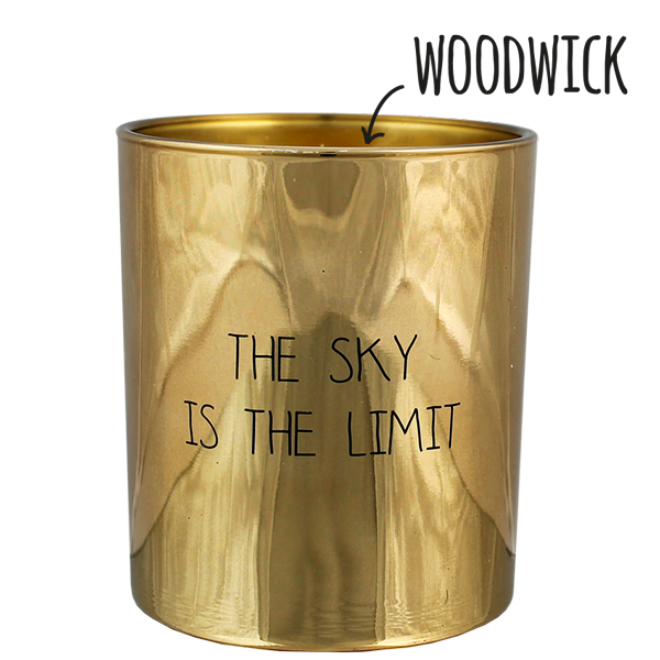 My  Flame Lifestyle SOY CANDLE - THE SKY IS THE LIMIT - SCENT: SILKY TONKA