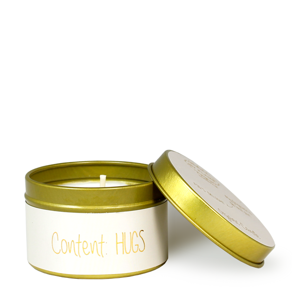 My Flame Lifestyle SOY CANDLE XS - CONTENT: HUGS - SCENT: FIG'S DELIGHT