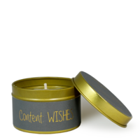 My Flame Lifestyle SOY CANDLE XS - CONTENT: WISHES - SCENT: PERSIAN POMEGRANATE