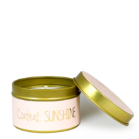 My Flame Lifestyle SOY CANDLE XS - CONTENT: SUNSHINE - SCENT: GREEN TEA TIME