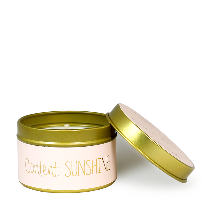 My Flame Lifestyle SOJAKAARS XS - CONTENT: SUNSHINE - GEUR: GREEN TEA TIME