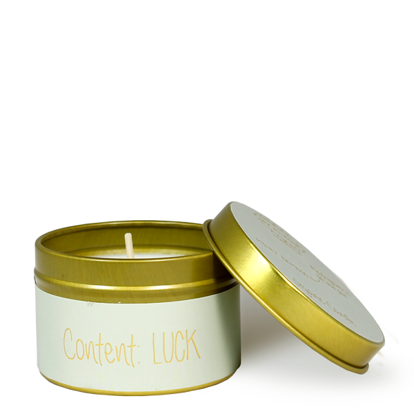 My Flame Lifestyle SOY CANDLE XS - CONTENT: LUCK - SCENT: MINTY BAMBOO