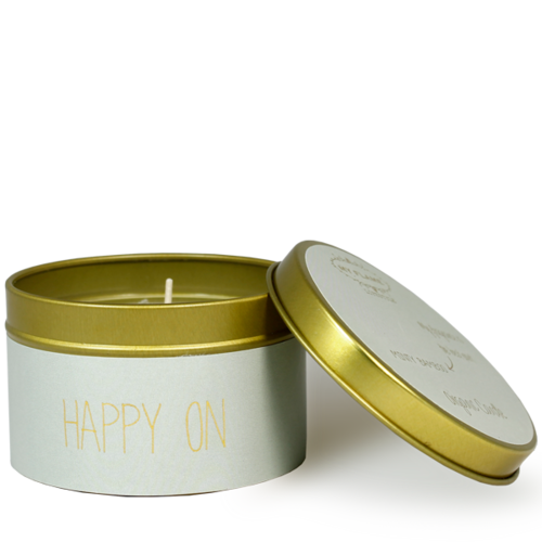 SOY CANDLE M - HAPPY ON