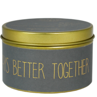 My Flame Lifestyle SOJAKAARS - ALWAYS BETTER TOGETHER- GEUR: PERSIAN POMEGRANATE