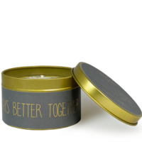 My Flame Lifestyle SOJAKAARS M - ALWAYS BETTER TOGETHER- GEUR: PERSIAN POMEGRANATE