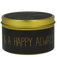 My Flame Lifestyle SOJAKAARS - MERRY EVERYTHING AND A HAPPY ALWAYS - GEUR: WARM CASHMERE