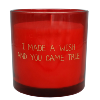 My Flame Lifestyle SOY CANDLE - I MADE A WISH AND YOU CAME TRUE - SCENT: UNCONDITIONAL