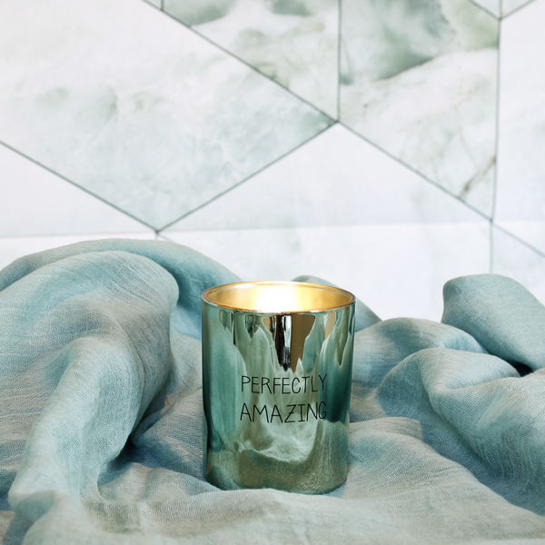 My  Flame Lifestyle SOY CANDLE - PERFECTLY AMAZING - SCENT: MINTY BAMBOO