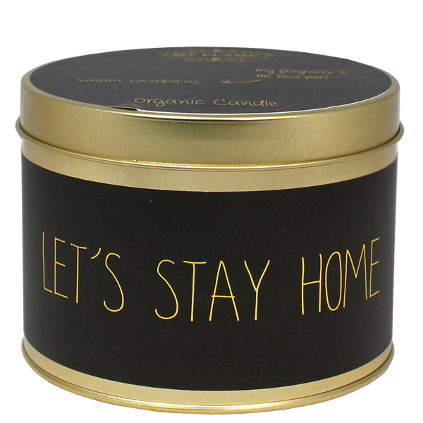 My Flame Lifestyle SOJAKAARS XL - LET'S STAY HOME - GEUR: WARM CASHMERE