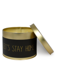 My Flame Lifestyle SOY CANDLE XL - LET'S STAY HOME - SCENT: WARM CASHMERE