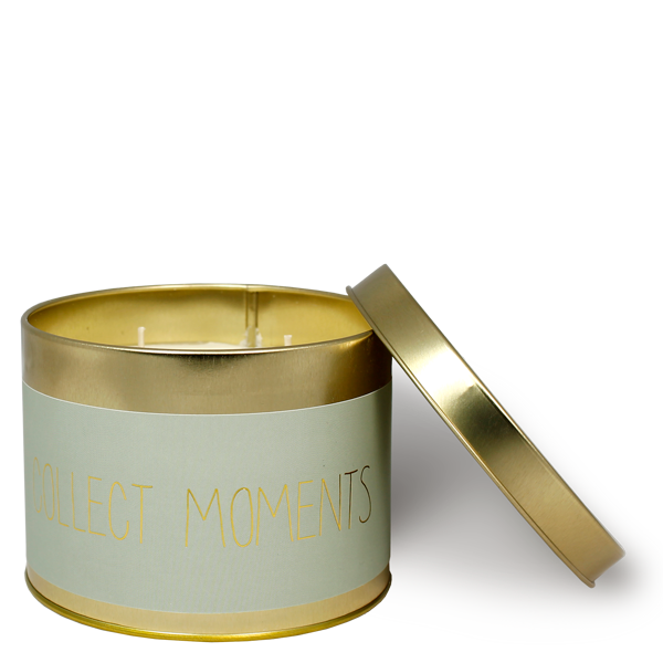 My Flame Lifestyle SOY CANDLE  XL - COLLECT MOMENTS - SCENT: MINTY BAMBOO
