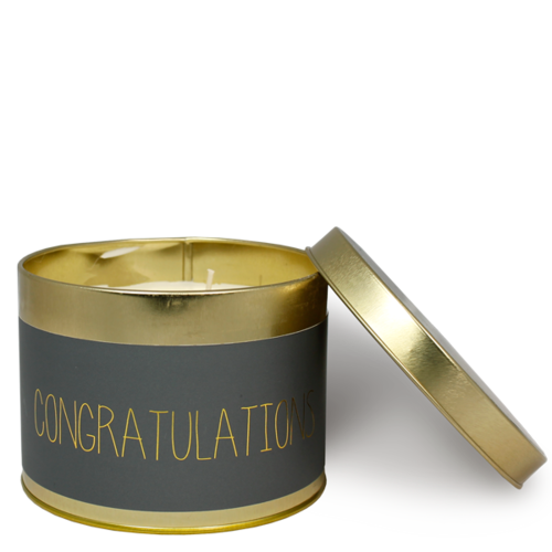 SOY CANDLE XL - CONGRATULATIONS
