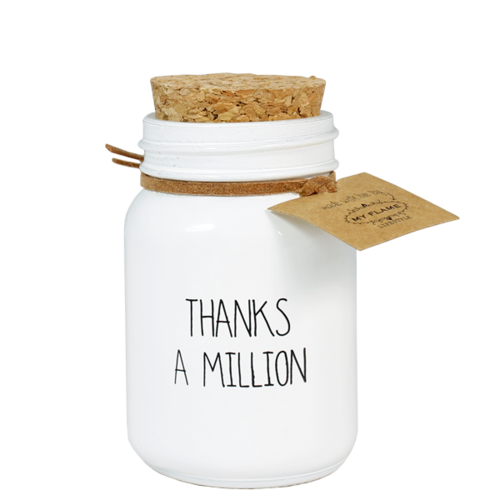 SOY CANDLE - THANKS A MILLION