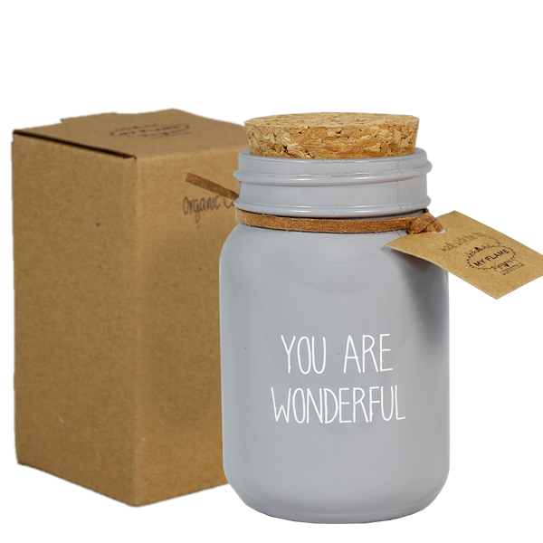 My Flame Lifestyle SOJAKAARS - YOU ARE WONDERFUL - GEUR: AMBER'S SECRET -