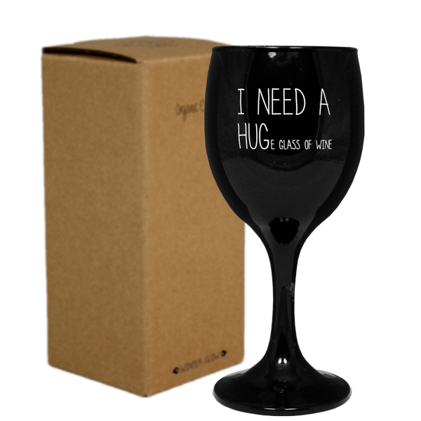 My Flame Lifestyle SOY CANDLE - I NEED A HUGE GLASS OF WINE - SCENT: WARM CASHMERE