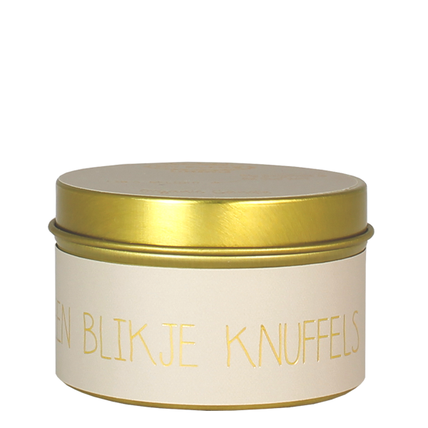 My Flame Lifestyle SOY CANDLE XS - EEN BLIKJE KNUFFELS - SCENT: FIG'S DELIGHT