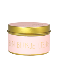 My Flame Lifestyle SOY CANDLE - EEN BLIKJE LIEFDE - SCENT: WARM CASHMERE