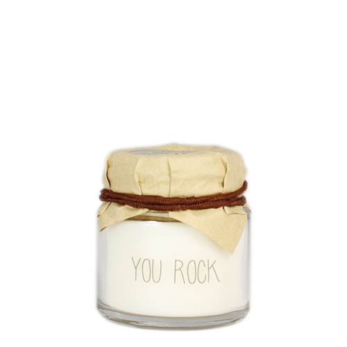 SOY CANDLE - YOU ROCK