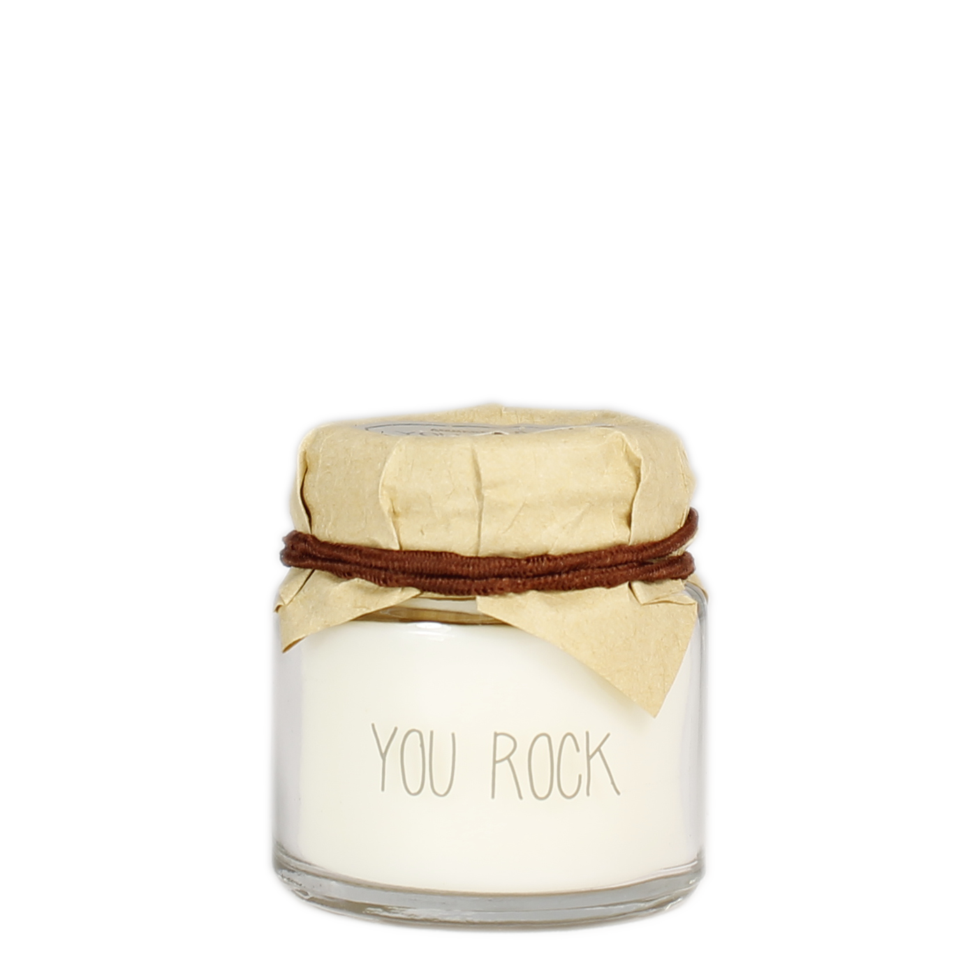 My Flame Lifestyle SOY CANDLE - YOU ROCK - SCENT: FIG'S DELIGHT