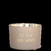 My Flame Lifestyle SOJAKAARS - JIJ BENT GOUD WAARD - GEUR: FIG'S DELIGHT
