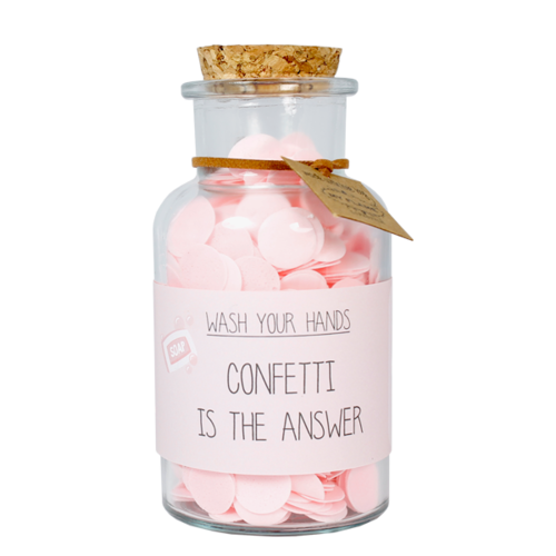 HANDSOAP - CONFETTI IS THE ANSWER