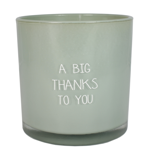SOY CANDLE - A BIG THANKS TO YOU