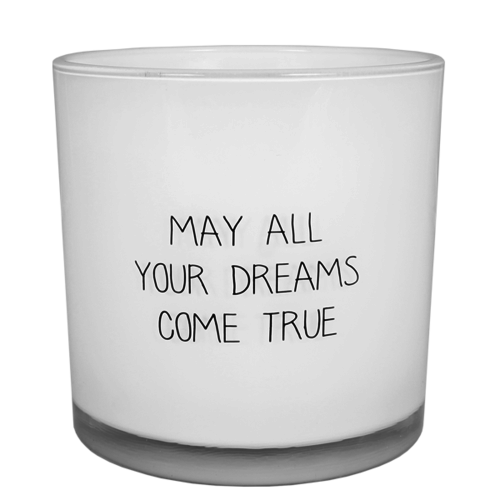 SOY CANDLE - MAY ALL YOUR DREAMS COME TRUE