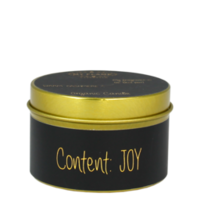 My Flame Lifestyle SOY CANDLE XS - CONTENT: JOY - SCENT: WARM CASHMERE