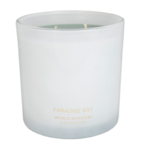 My Flame Lifestyle SOJAKAARS  410 GR. - WORLD WONDERS - PARADISE BAY