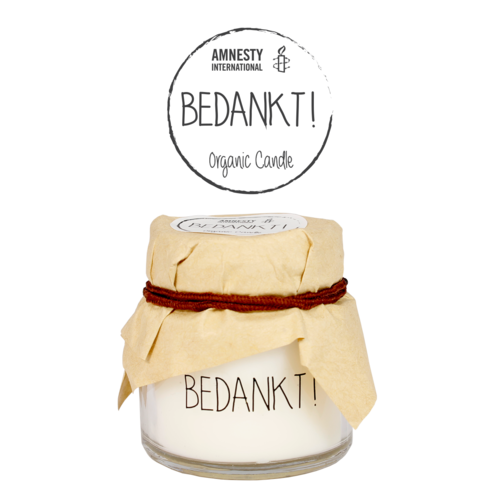 SOY CANDLE - BEDANKT!